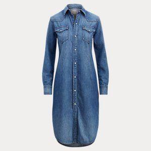 Polo Ralph Lauren Denim Western Shirt-Dress